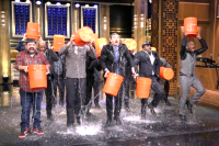 Jimmy Fallon--Ice bucket challenge