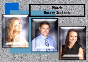 March Rotary Students
