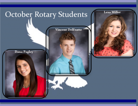 October Rotary Students