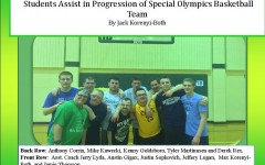 Upstanding Students Assist in the Progression of Special Olympics Basketball Team
