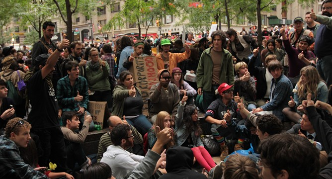 """Show me the Money"": Occupy Wall Street"