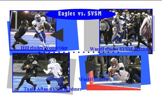 Playoff Title Eludes Eagles