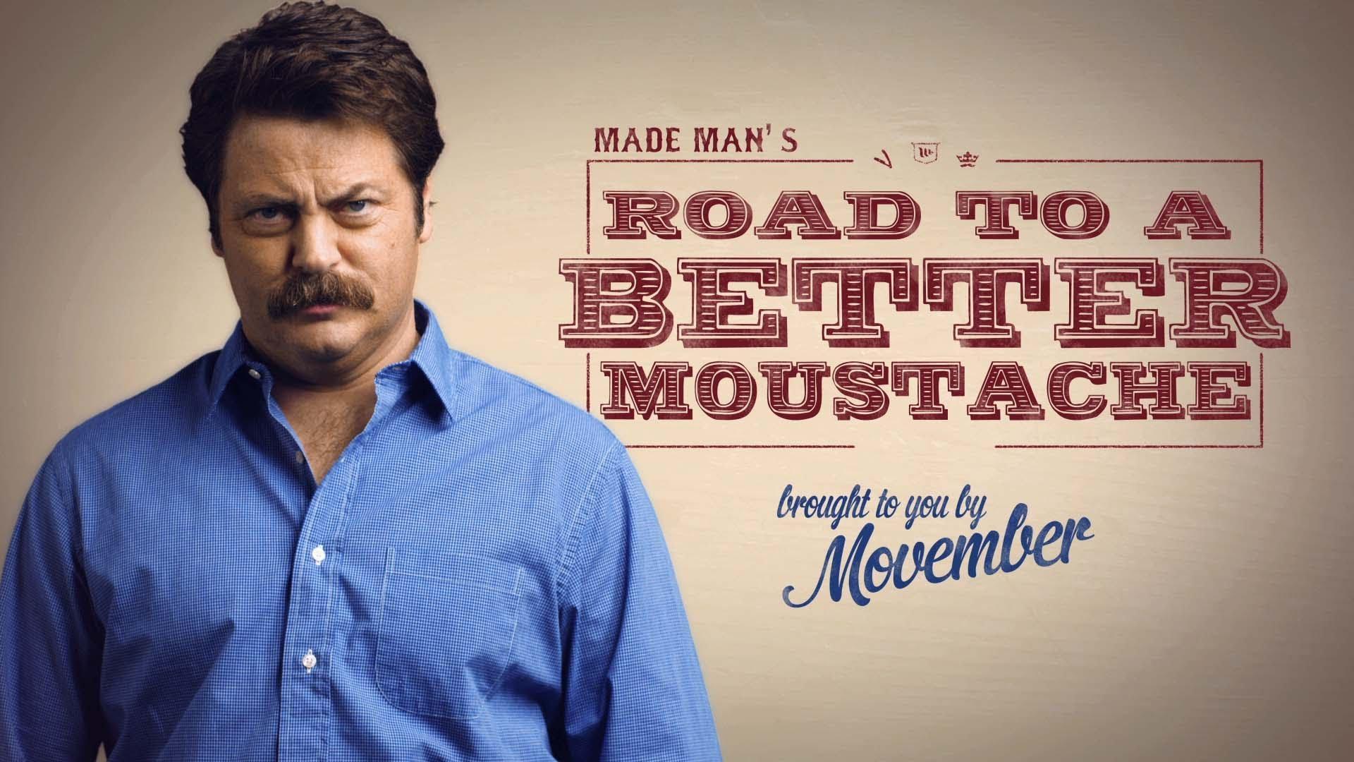 Mustache Movember!