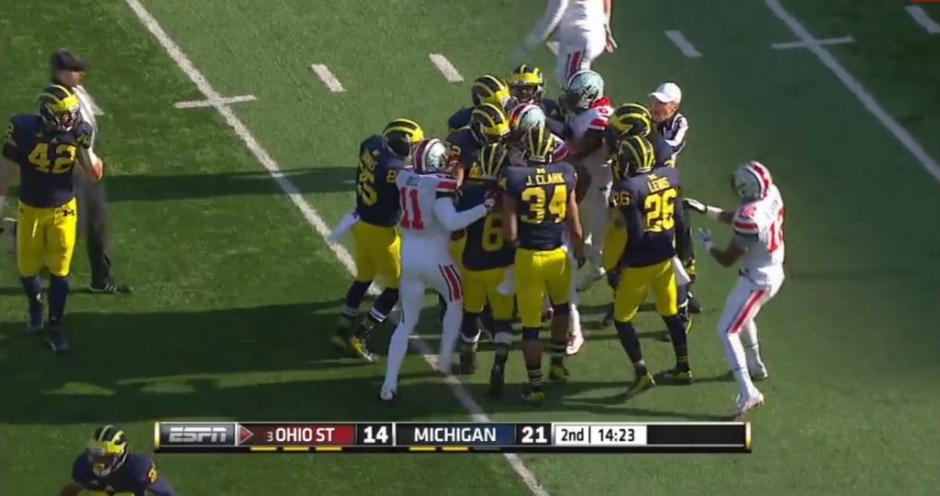 Violence in College Football: OSU vs. Michigan