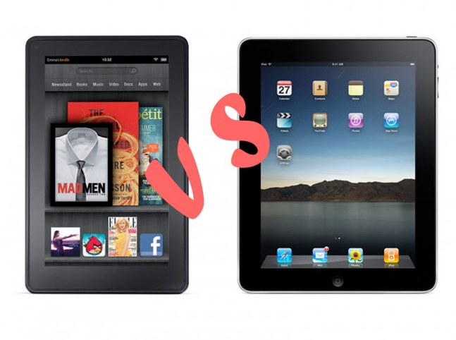 Apple Ipad Vs Kindle: Kindle Fire Vs. IPad Air: Now All We Need Is Earth And