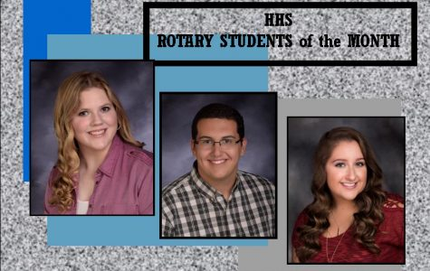 HHS October Rotary Students of the Month