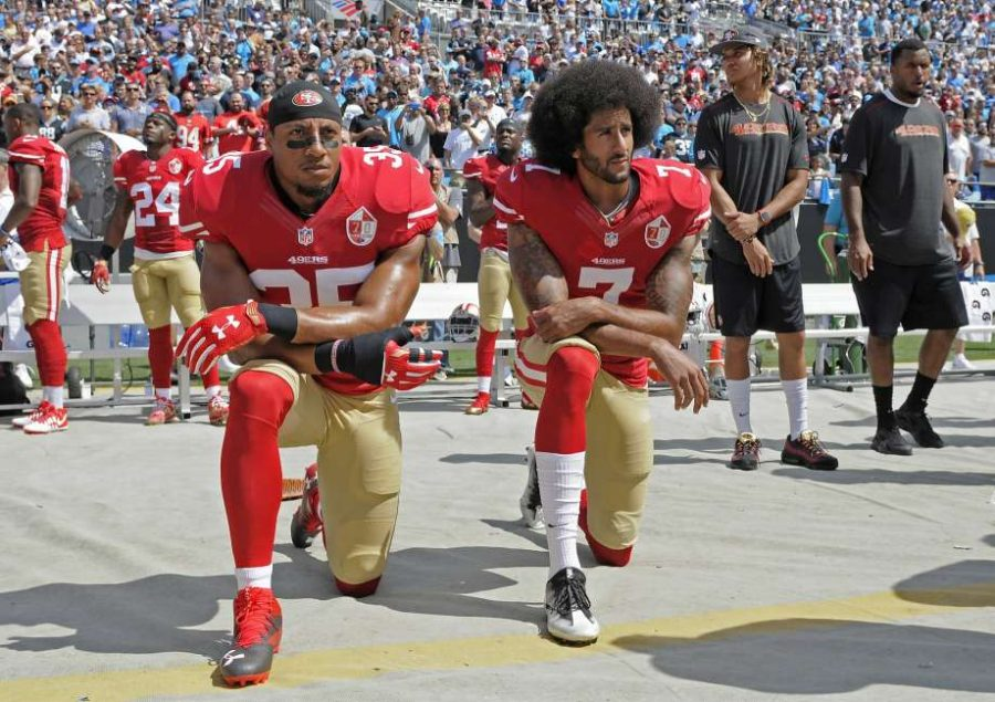 NFL Players Refuse Anthem Respect in Protest of Racial Rights