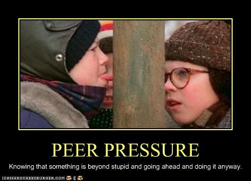 Ten Ways to Cope with Peer Pressure