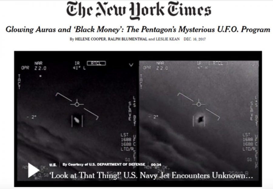Conspiracy Theories Part Two: The Pentagon UFO Video-Is it ET or the Military?