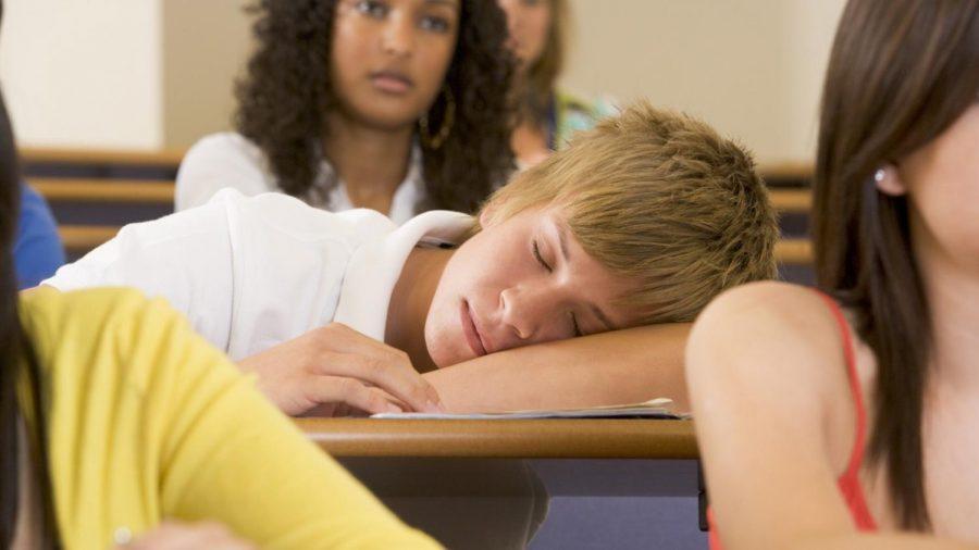 Set the High School Alarm on Snooze