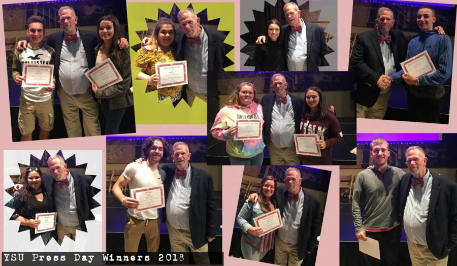 HHS Publications Captures Top Awards at YSU Press Day