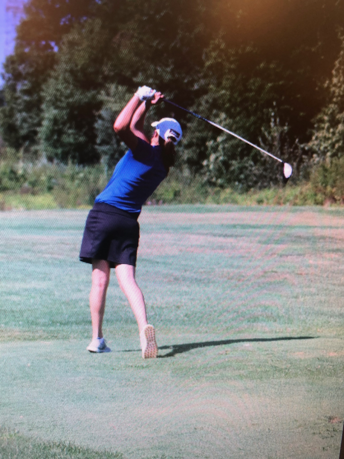 Girls Golf Drives Forward