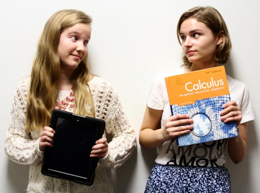 The Wave of the Future: Tablets vs. Textbooks