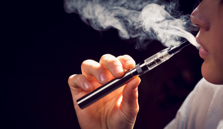 Nicotine Vaping Surges in U.S. High Schools