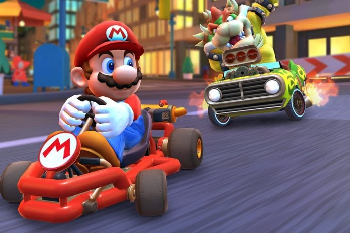 New+Mario+Kart+Game+Races+Toward+Top+Popularity